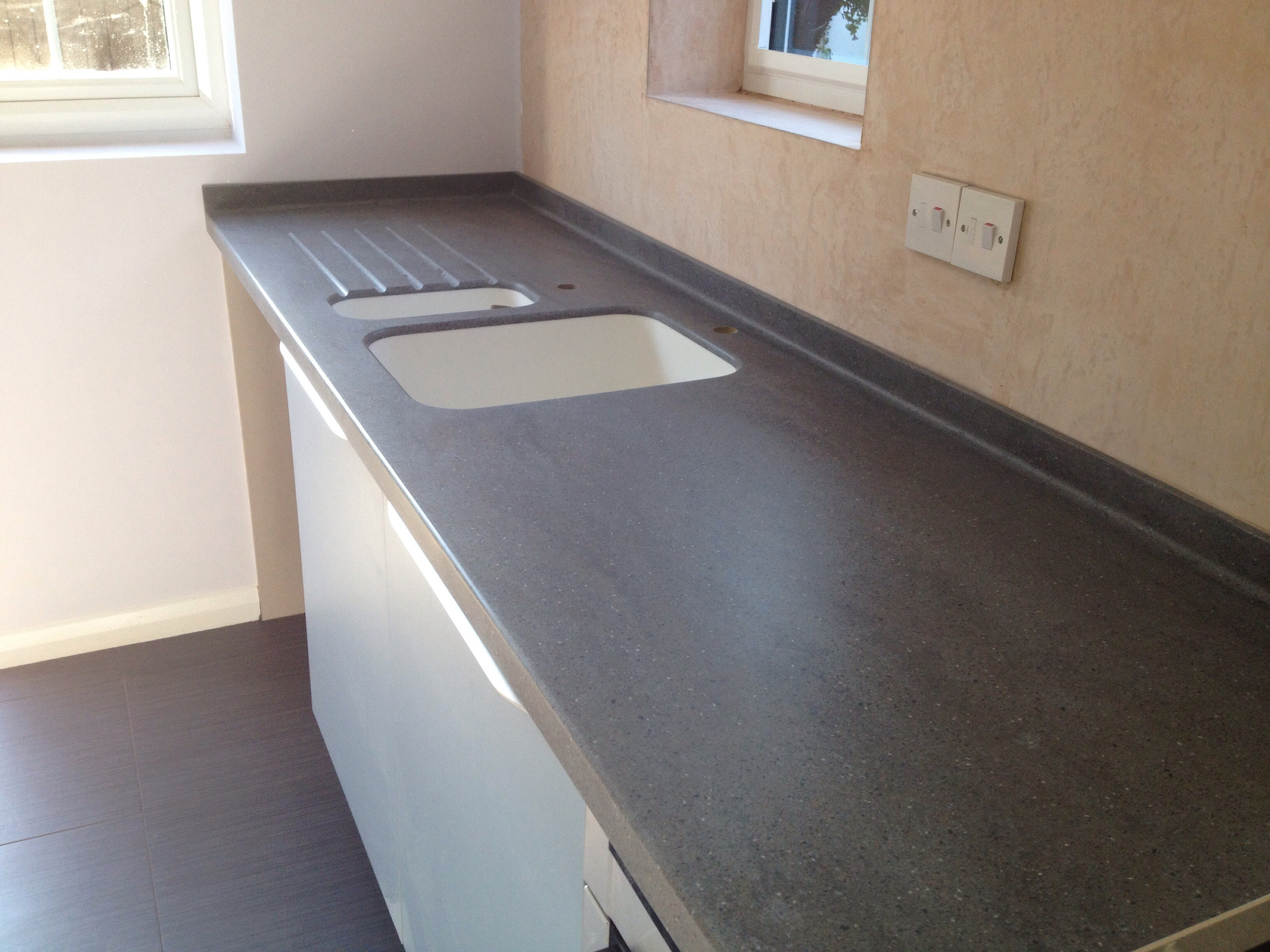 Lava Rock Corian in Bourn Cambridge | CCS